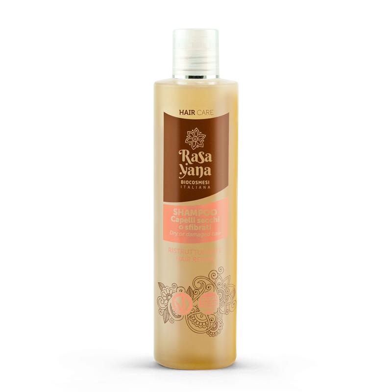 Shampoo ayurvedico Rasayana capelli secchi
