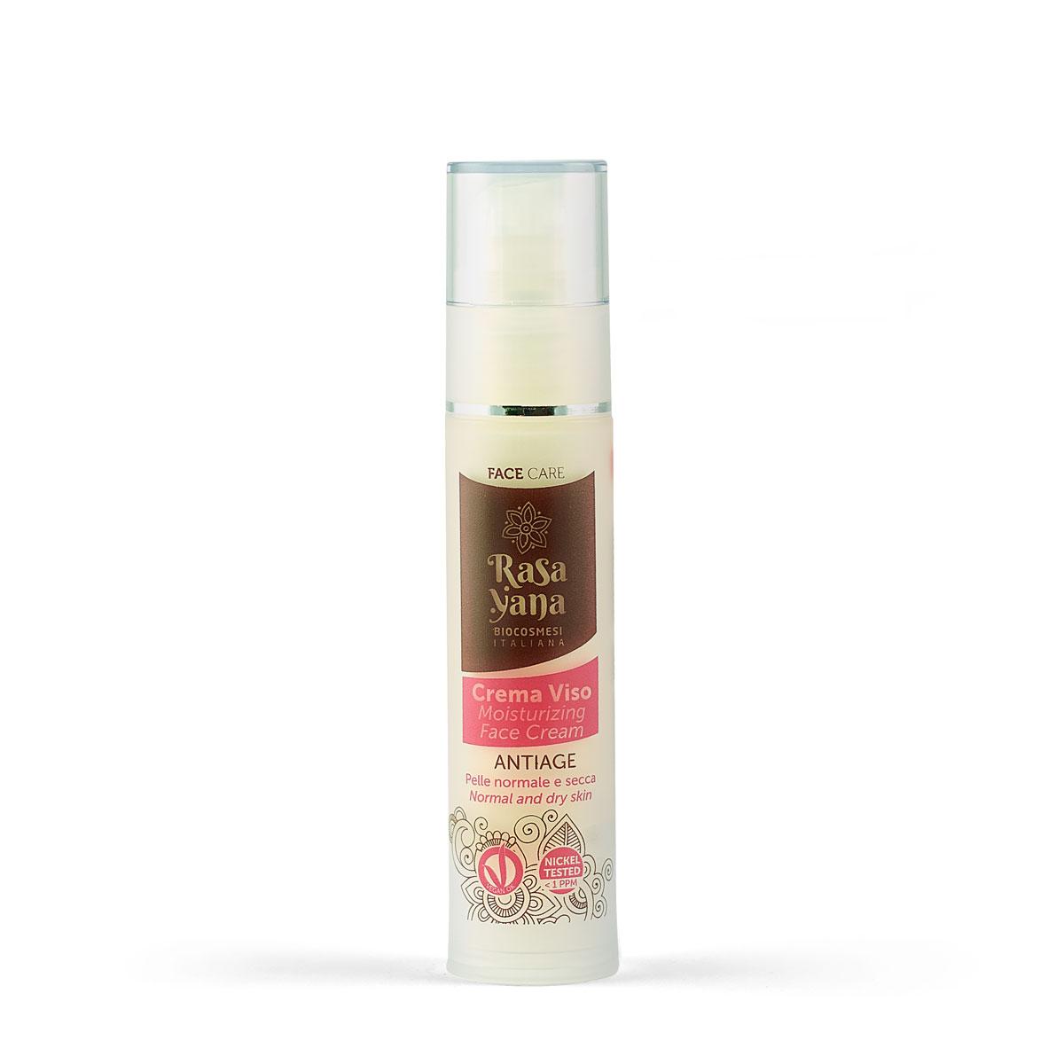 Crema viso antiage per pelle normale e secca
