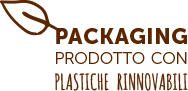 Packaging ecologico rinnnovabile