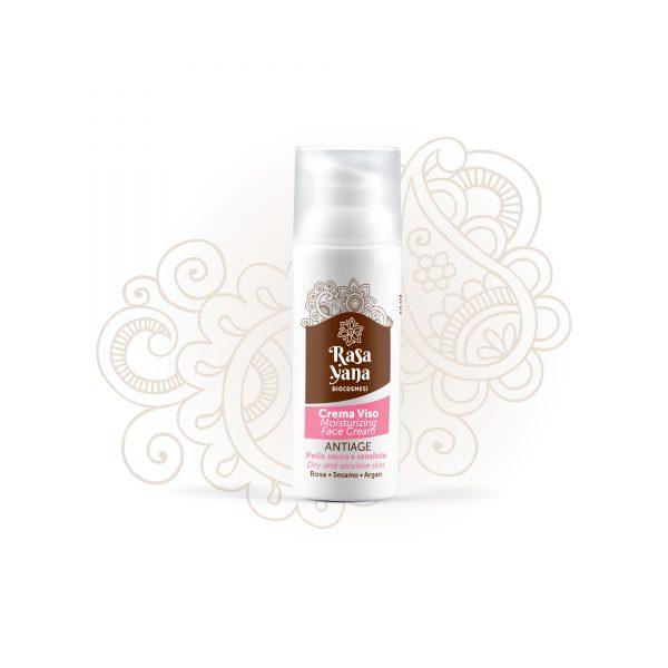 Crema viso pelle sensibile Rasayana